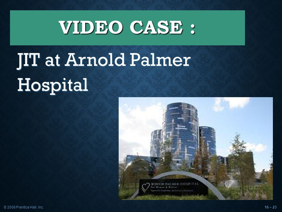 arnold palmer hospital operation management strategy Answer to laying out arnold palmer hospital's new facilitywhen orlando's arnold palmer principles of operations management (9th layout strategy:.