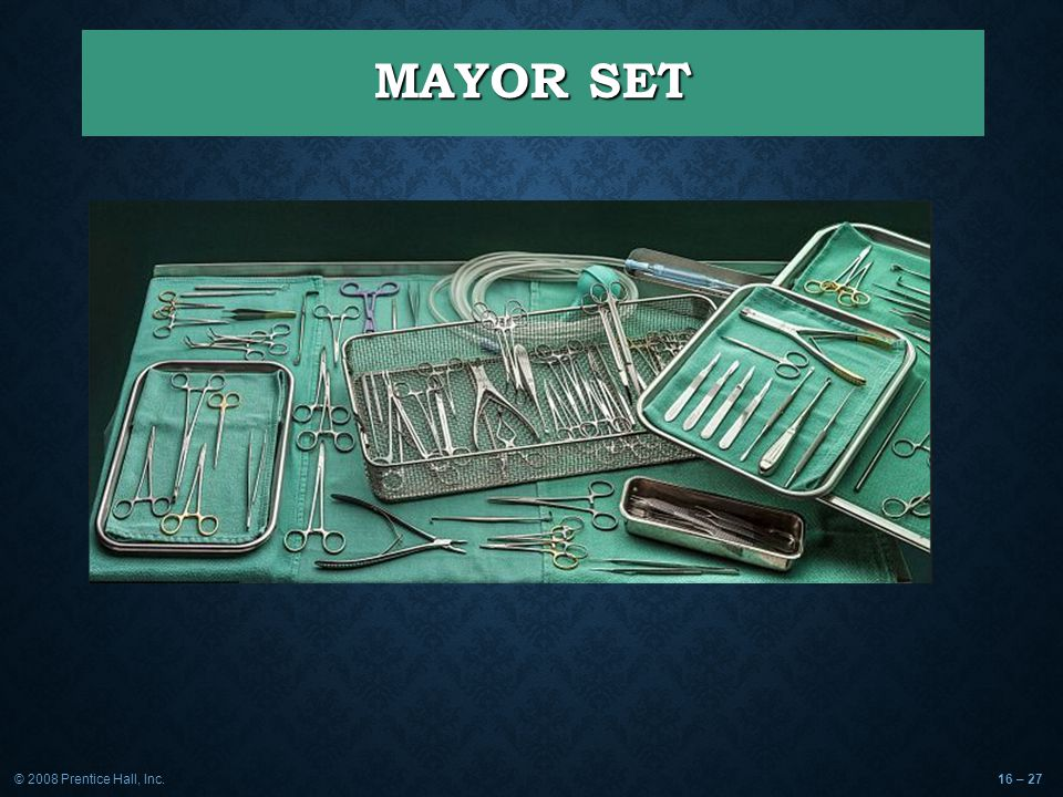 MAYOR SET