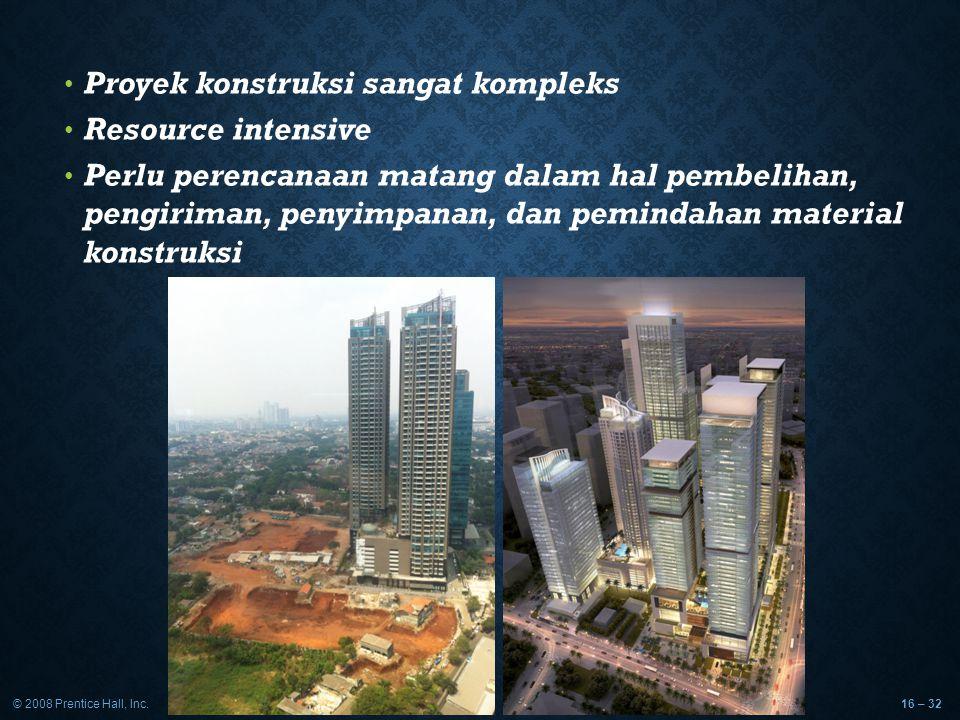 Proyek konstruksi sangat kompleks