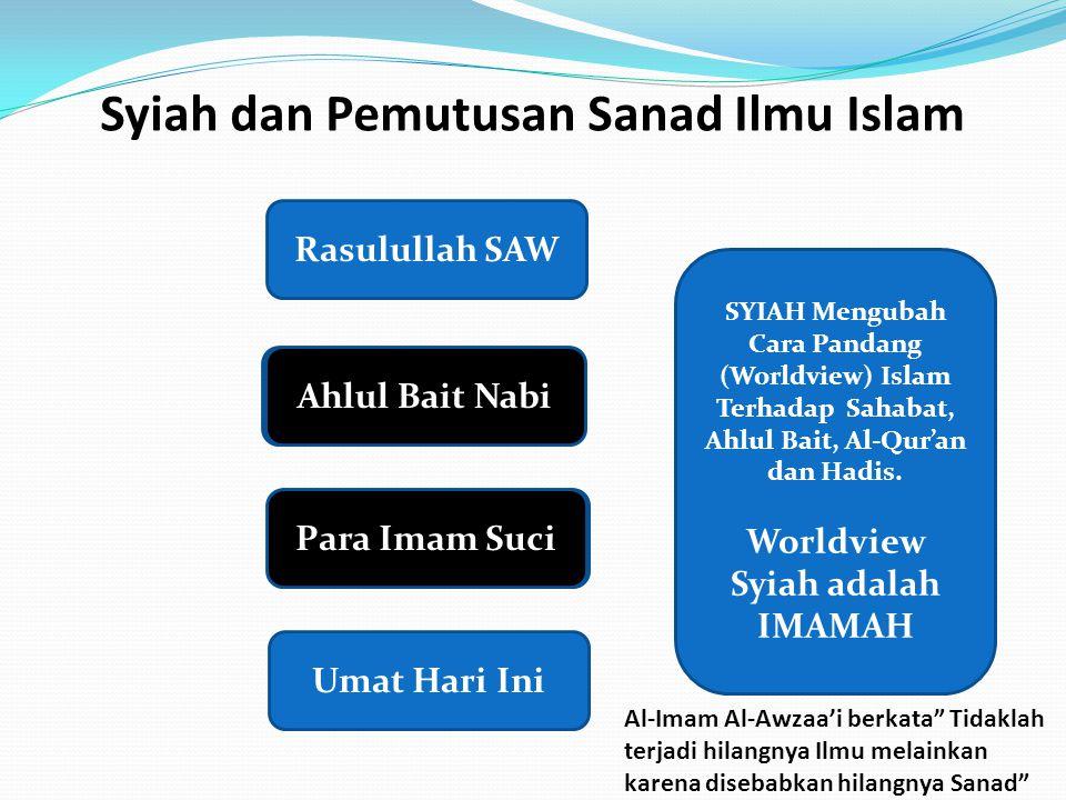 Syiah dan Pemutusan Sanad Ilmu Islam
