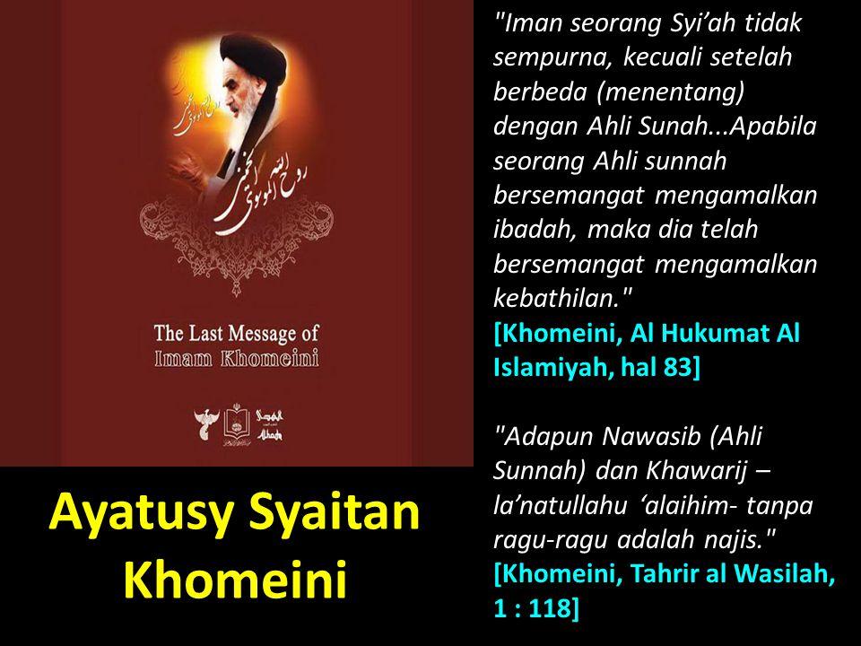 Ayatusy Syaitan Khomeini