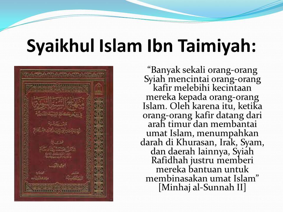 Syaikhul Islam Ibn Taimiyah: