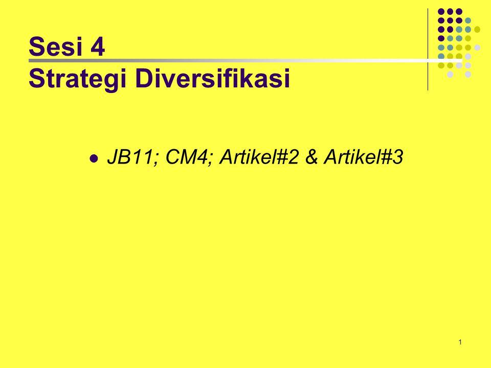 Sesi 4 Strategi Diversifikasi