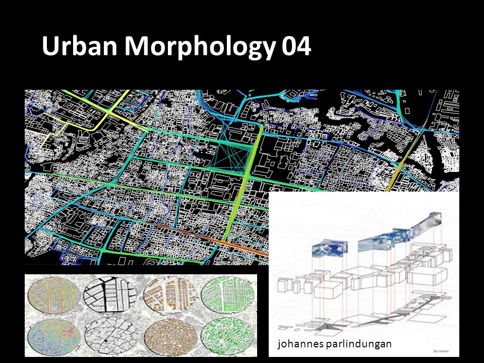 Urban Morphology 04