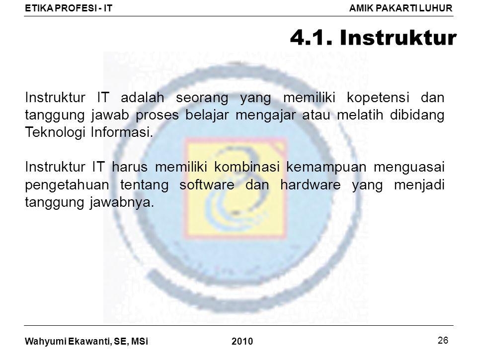 4.1. Instruktur