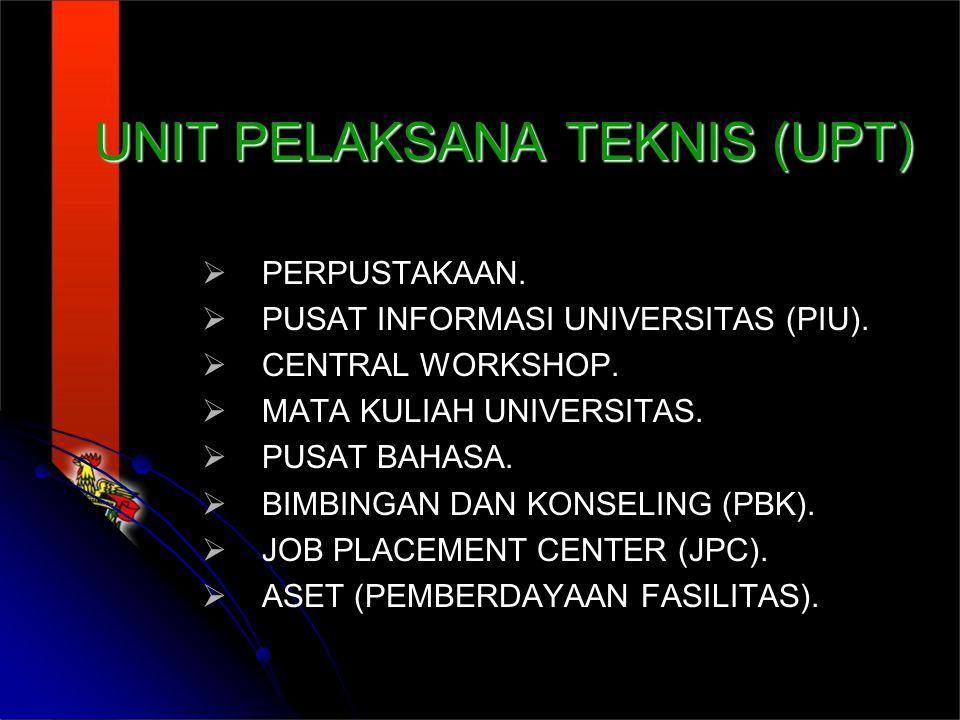 UNIT PELAKSANA TEKNIS (UPT)