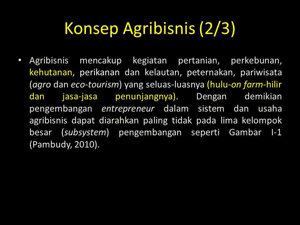 Konsep Agribisnis (2/3)