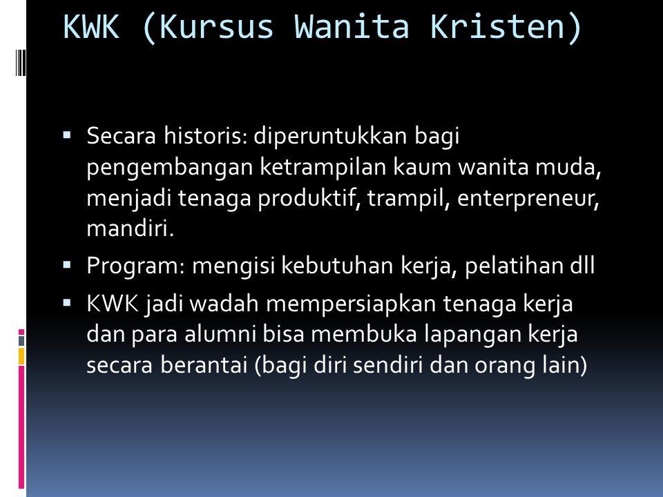KWK (Kursus Wanita Kristen)