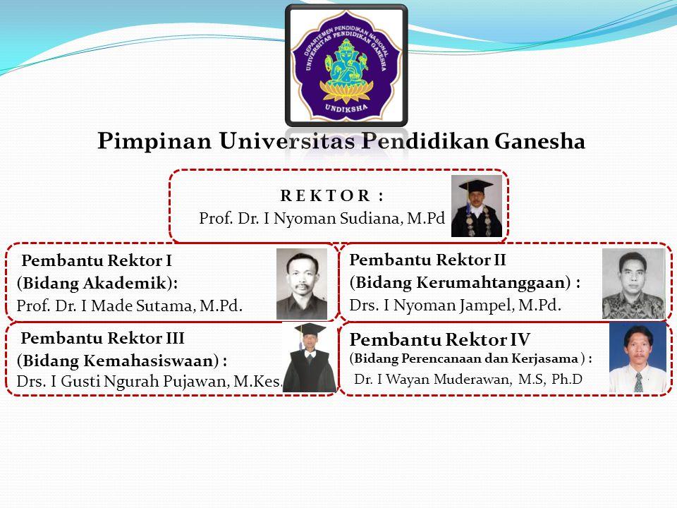 Pimpinan Universitas Pendidikan Ganesha
