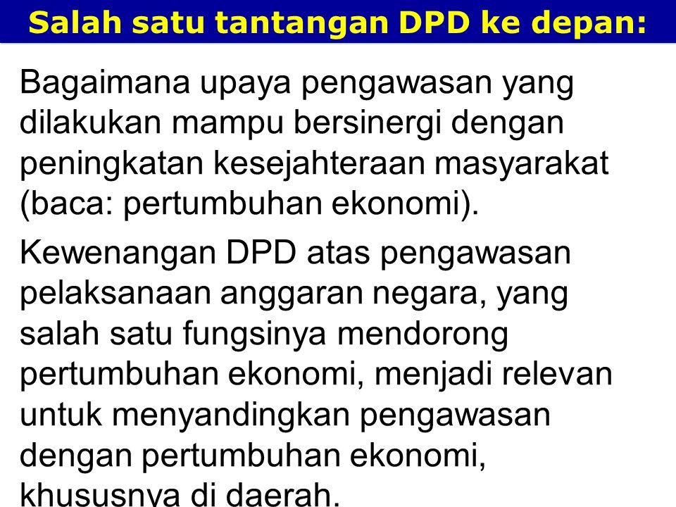 Salah satu tantangan DPD ke depan: