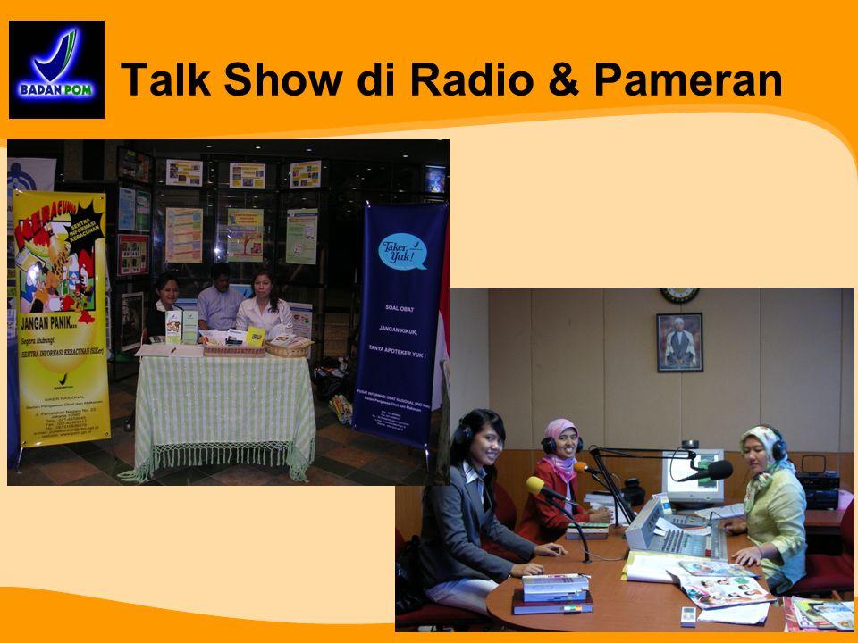 Talk Show di Radio & Pameran