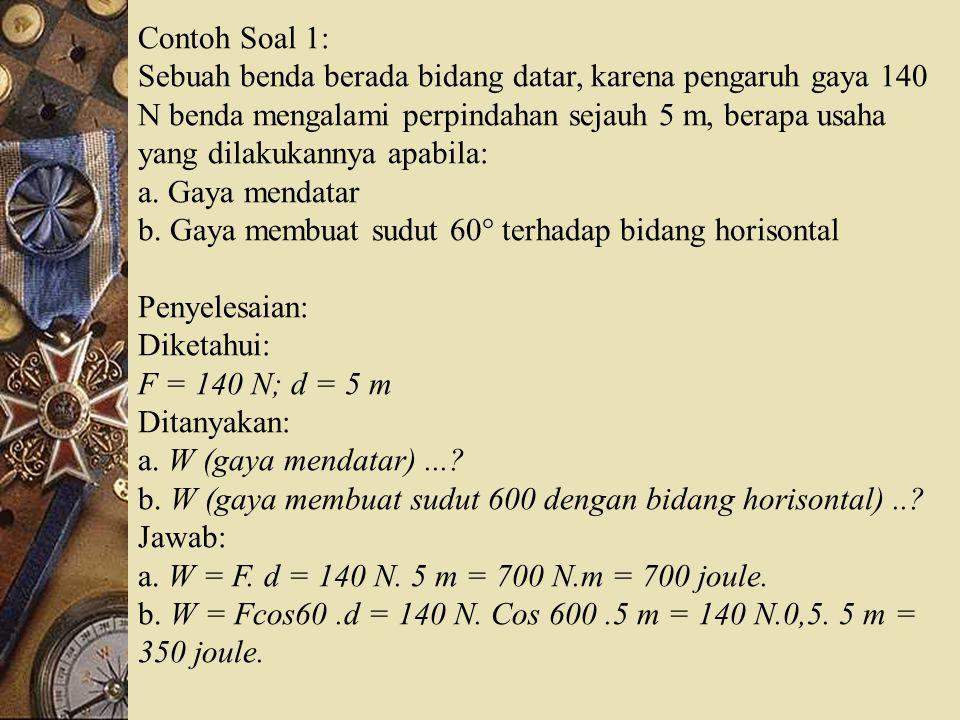 Contoh Soal 1:
