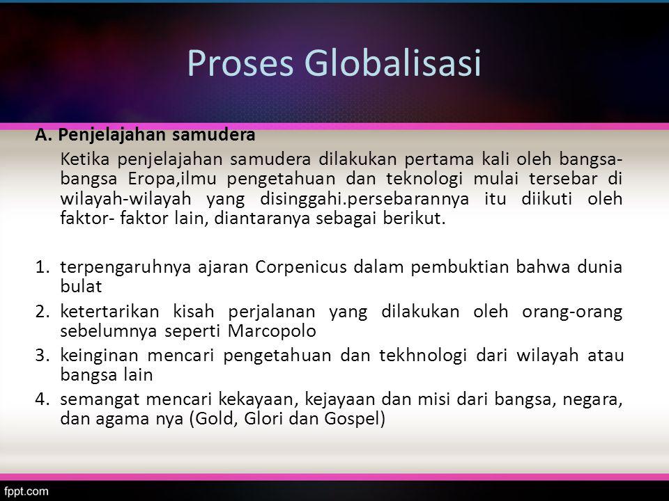 Proses Globalisasi