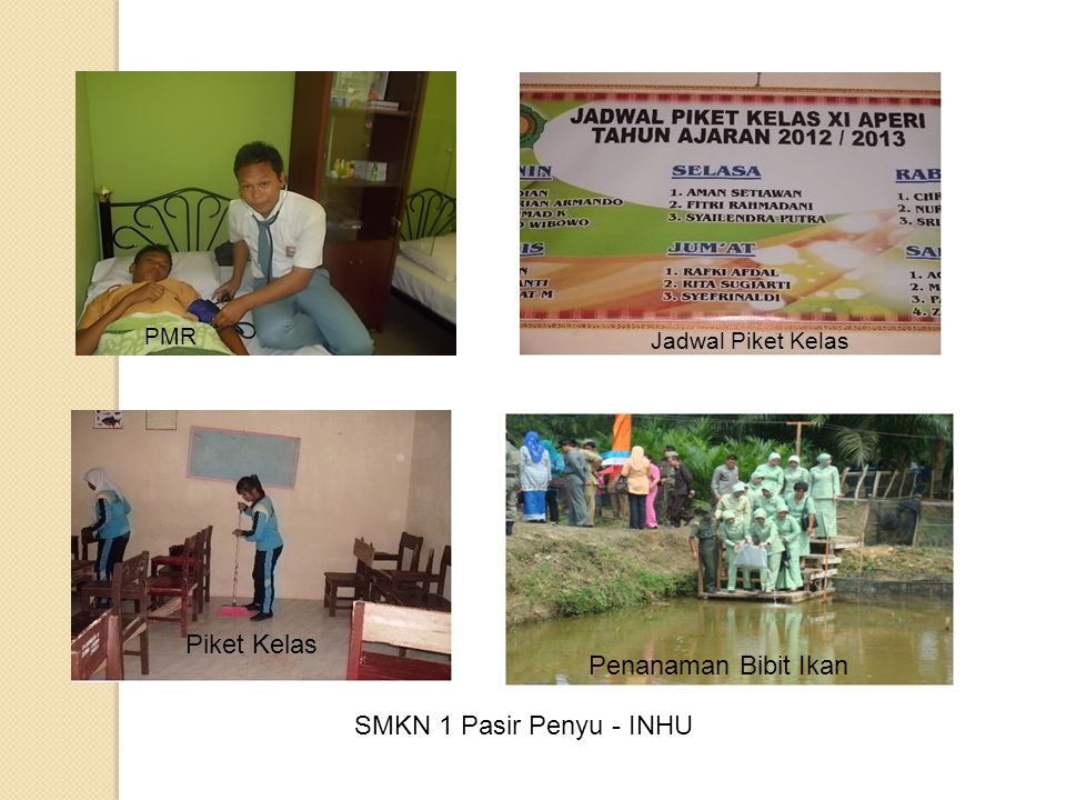 Piket Kelas Penanaman Bibit Ikan SMKN 1 Pasir Penyu - INHU PMR