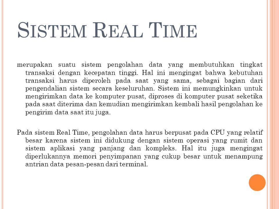 Sistem Real Time