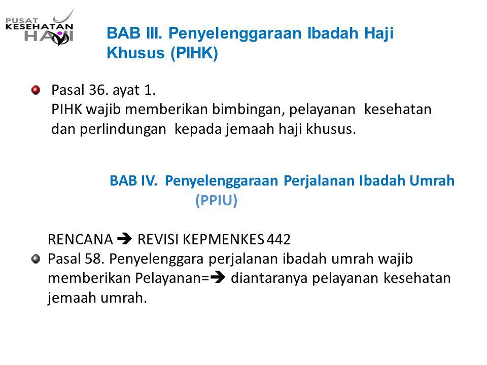 BAB III. Penyelenggaraan Ibadah Haji Khusus (PIHK)