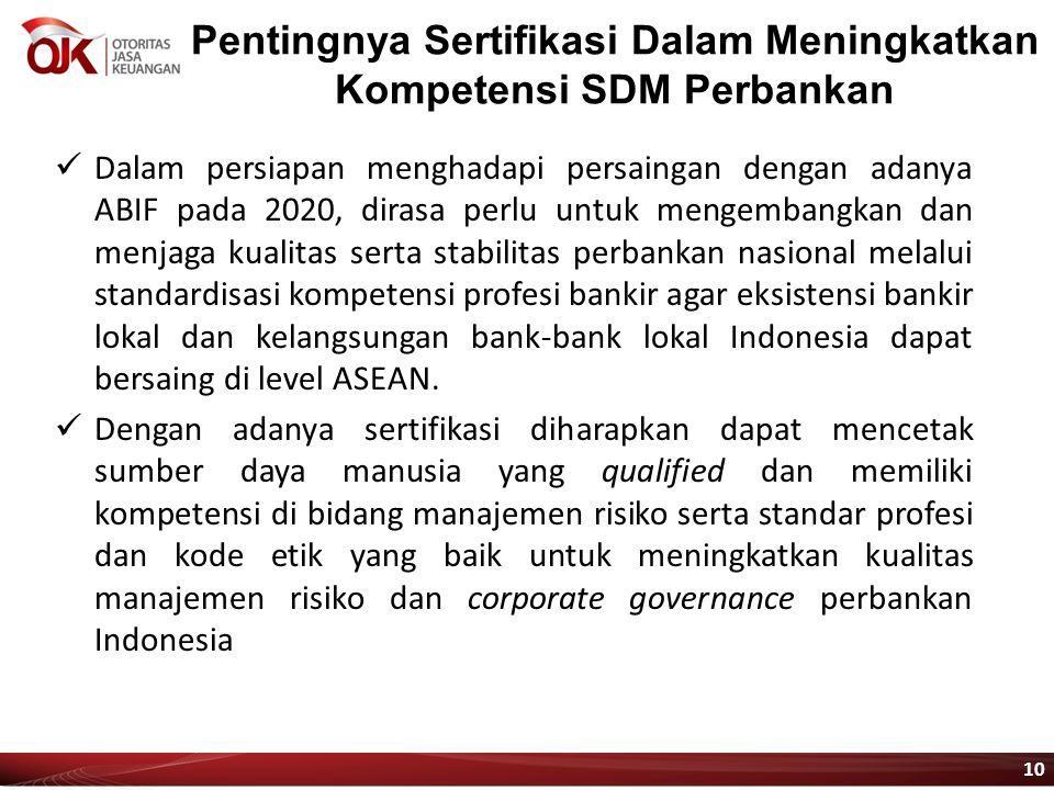 Pentingnya Sertifikasi Dalam Meningkatkan Kompetensi SDM Perbankan