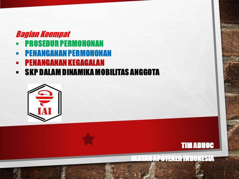 Tim AdHoc IKATAN APOTEKER INDONESIA