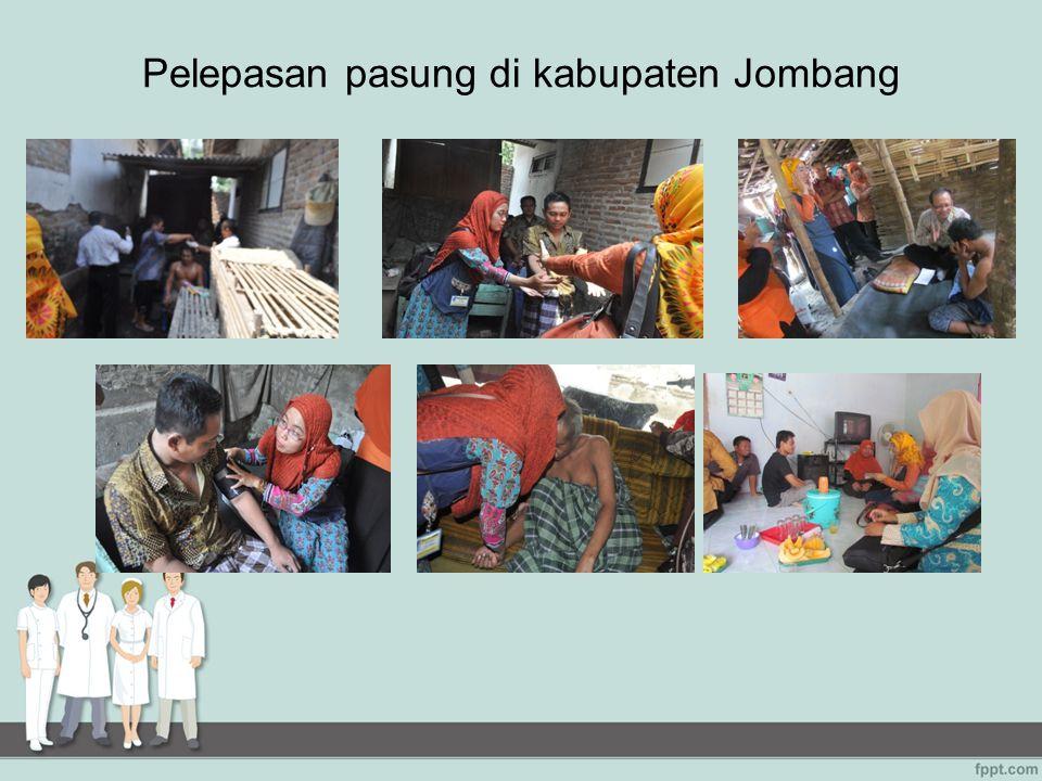 Pelepasan pasung di kabupaten Jombang