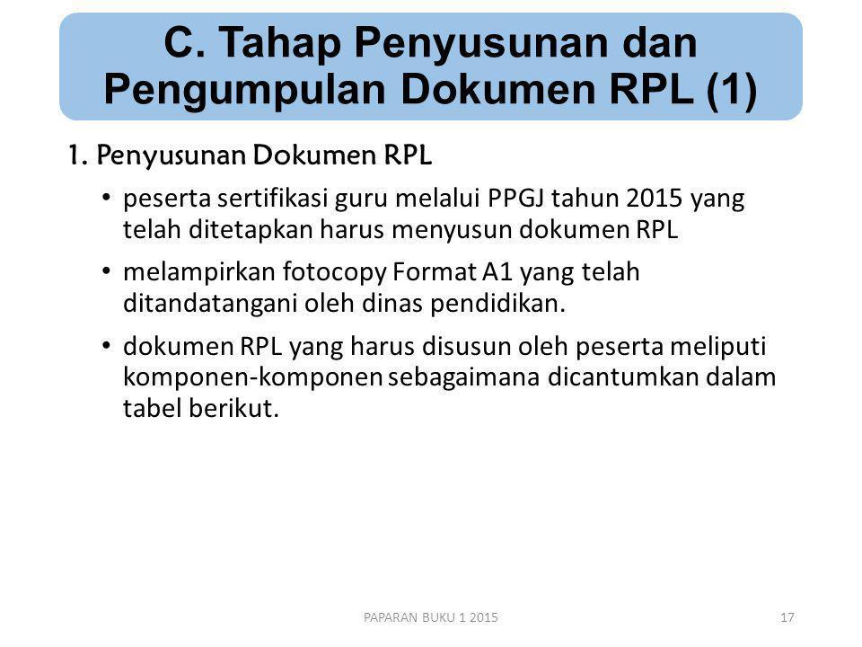 C. Tahap Penyusunan dan Pengumpulan Dokumen RPL (1)