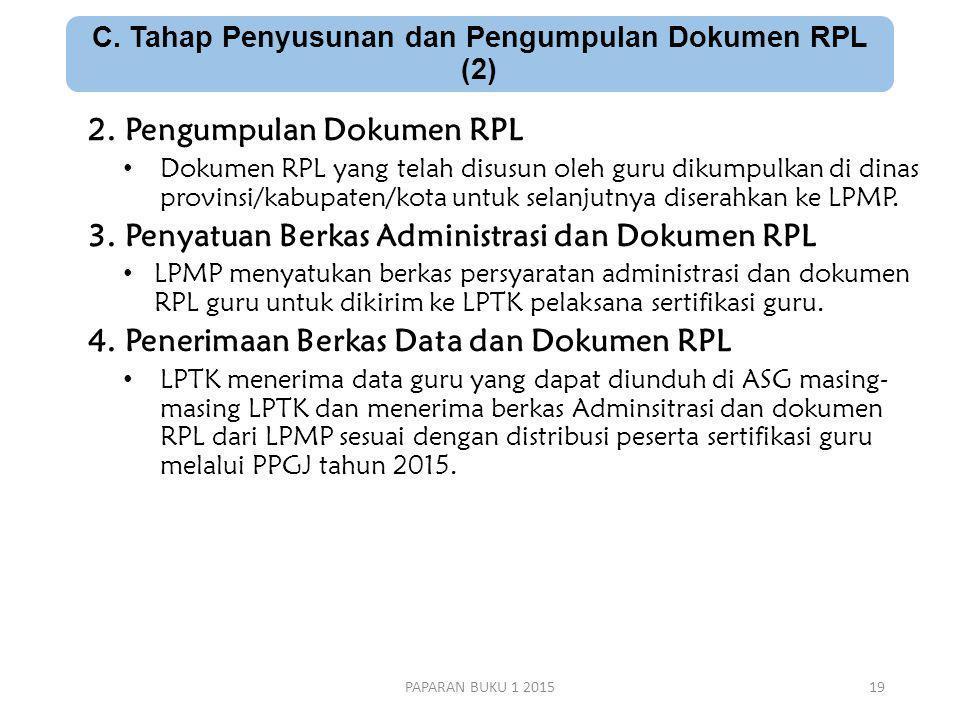C. Tahap Penyusunan dan Pengumpulan Dokumen RPL (2)