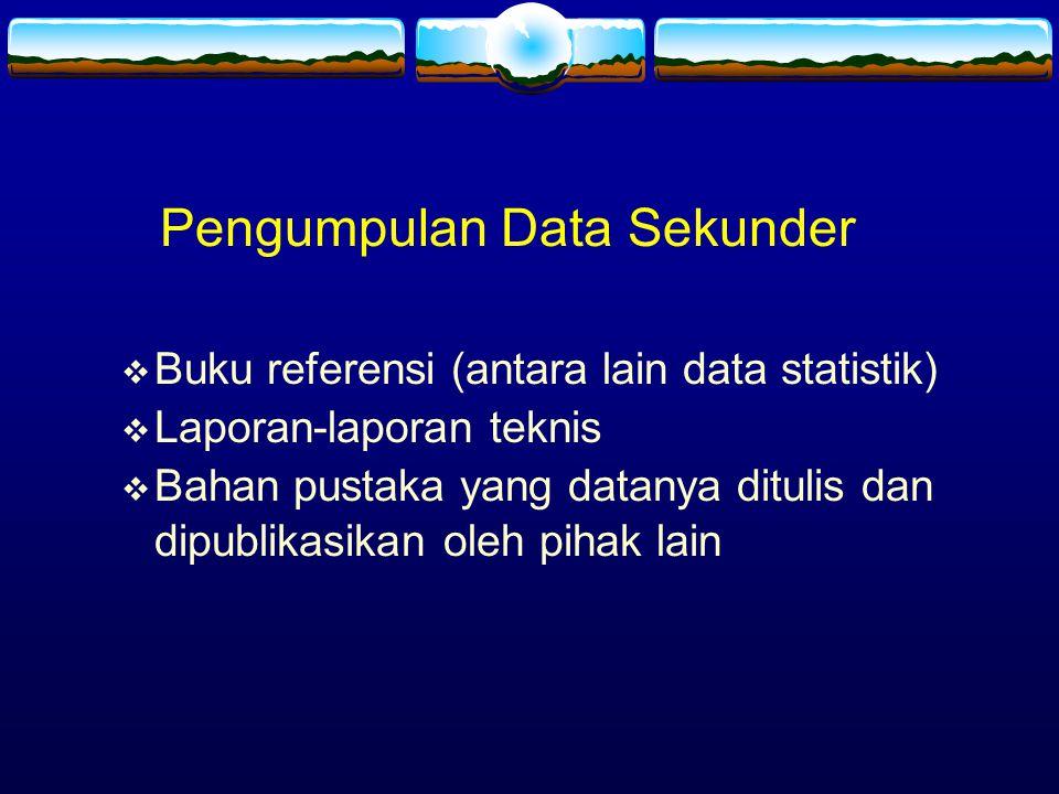 Pengumpulan Data Sekunder