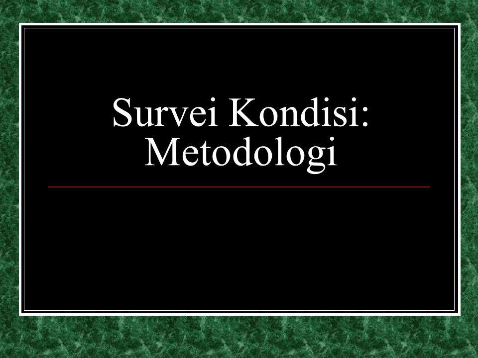 Survei Kondisi: Metodologi