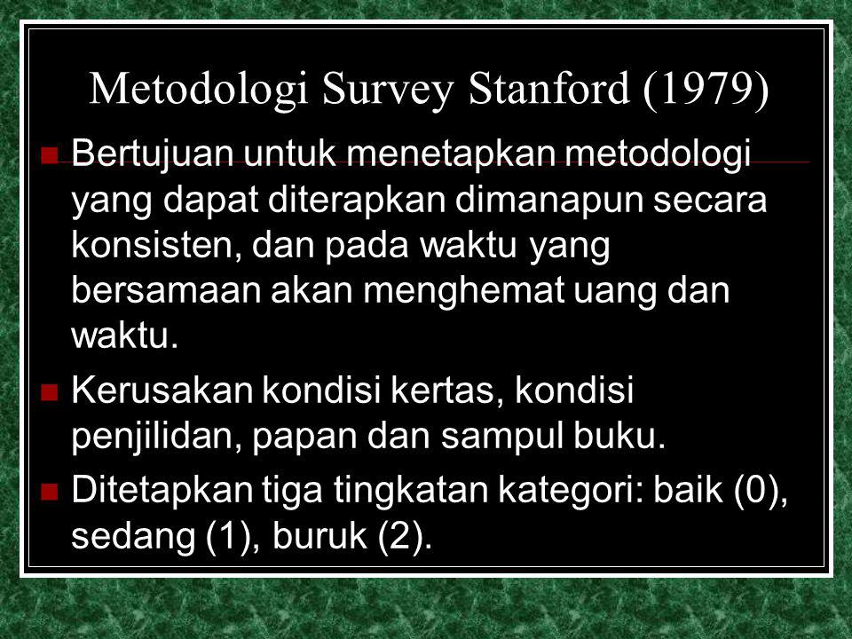 Metodologi Survey Stanford (1979)