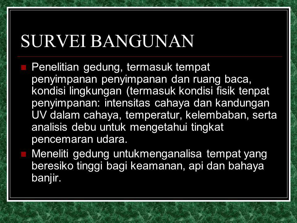 SURVEI BANGUNAN