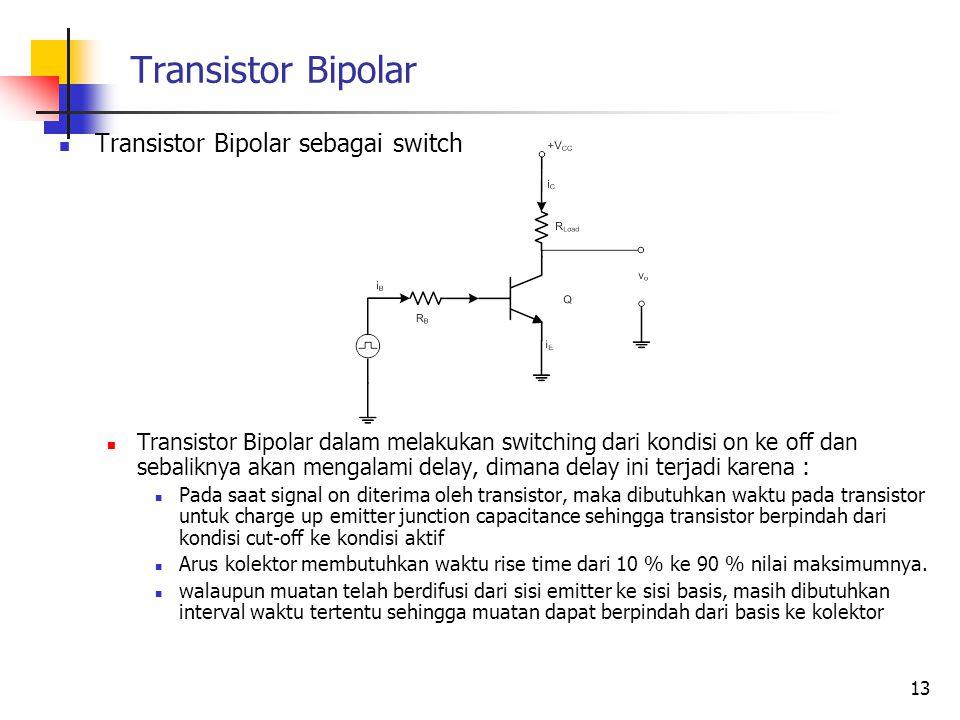 Transistor Bipolar Transistor Bipolar sebagai switch