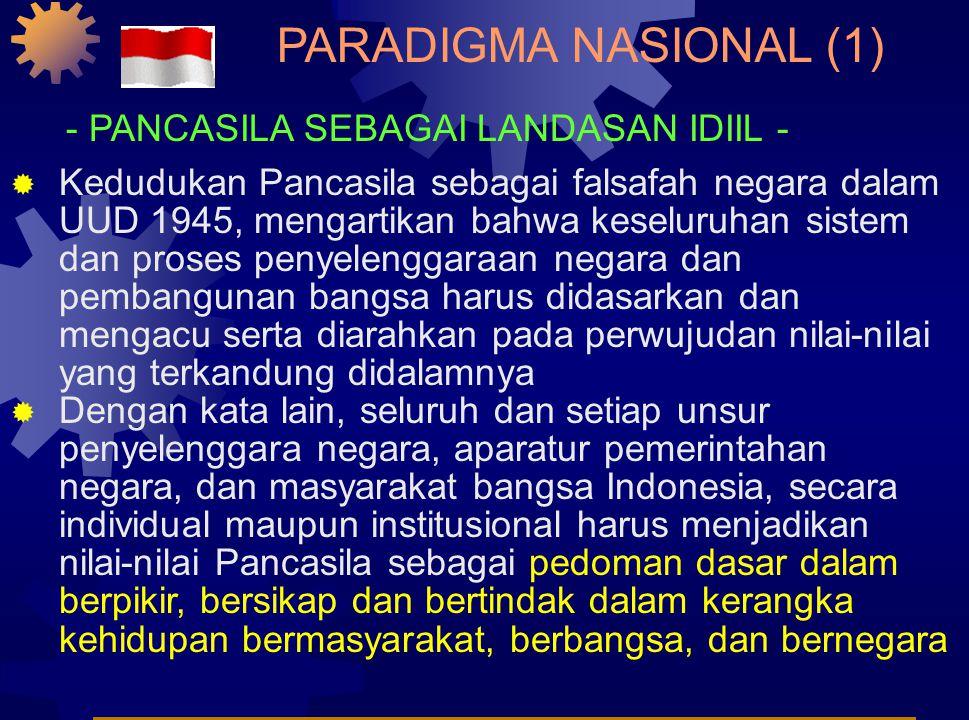 Paradigma Nasional