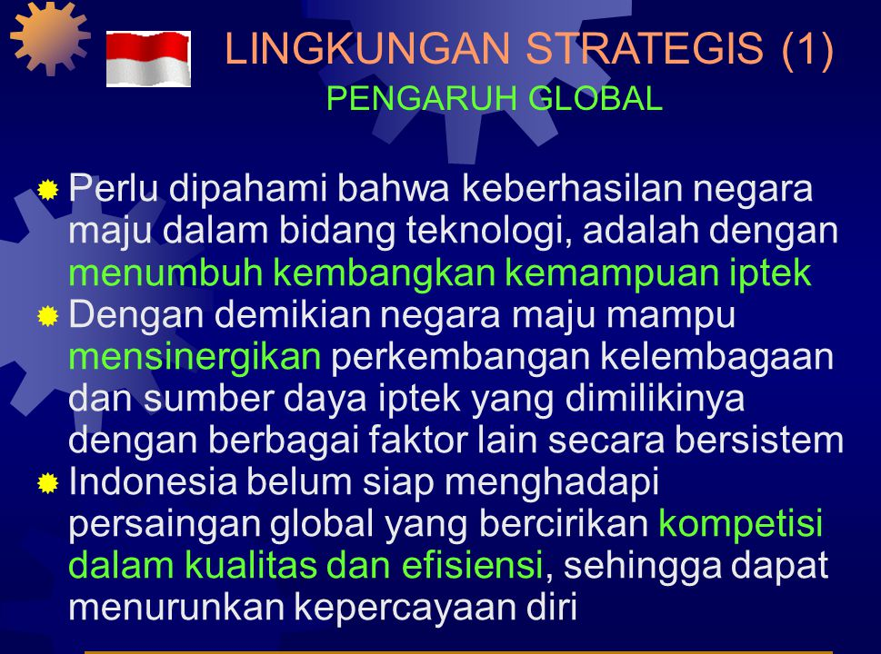 Pengaruh Lingkungan Strategis