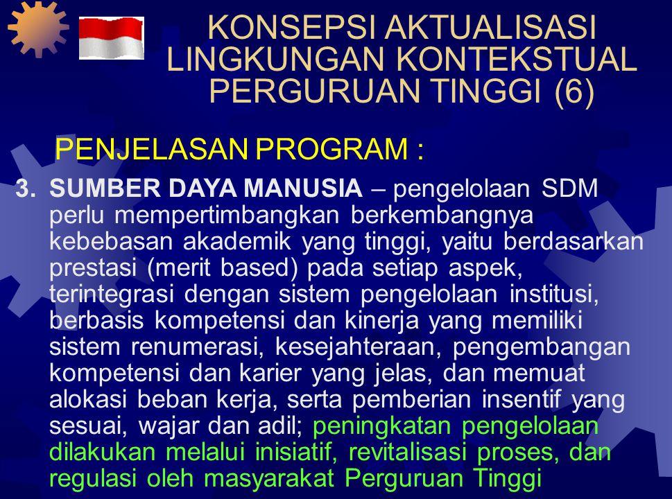 KONSEPSI AKTUALISASI LINGKUNGAN KONTEKSTUAL PERGURUAN TINGGI (5)