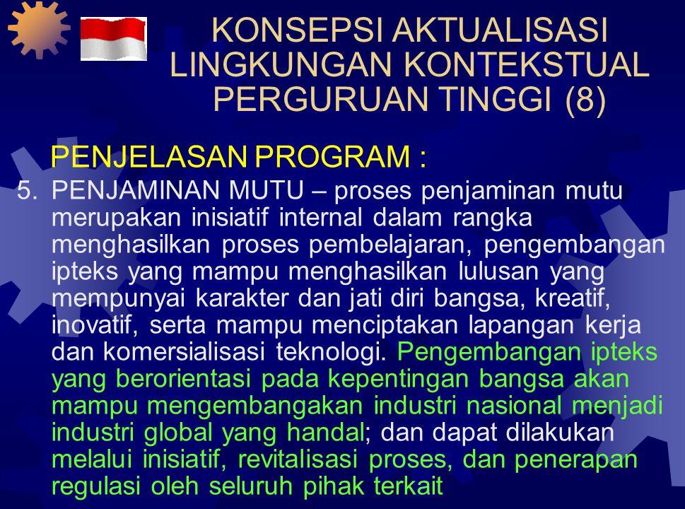 KONSEPSI AKTUALISASI LINGKUNGAN KONTEKSTUAL PERGURUAN TINGGI (7)