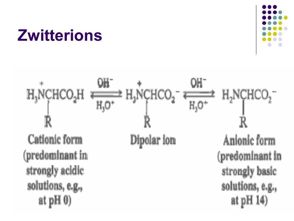 Zwitterions