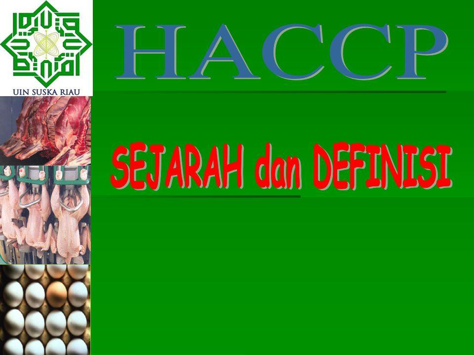 HACCP SEJARAH dan DEFINISI