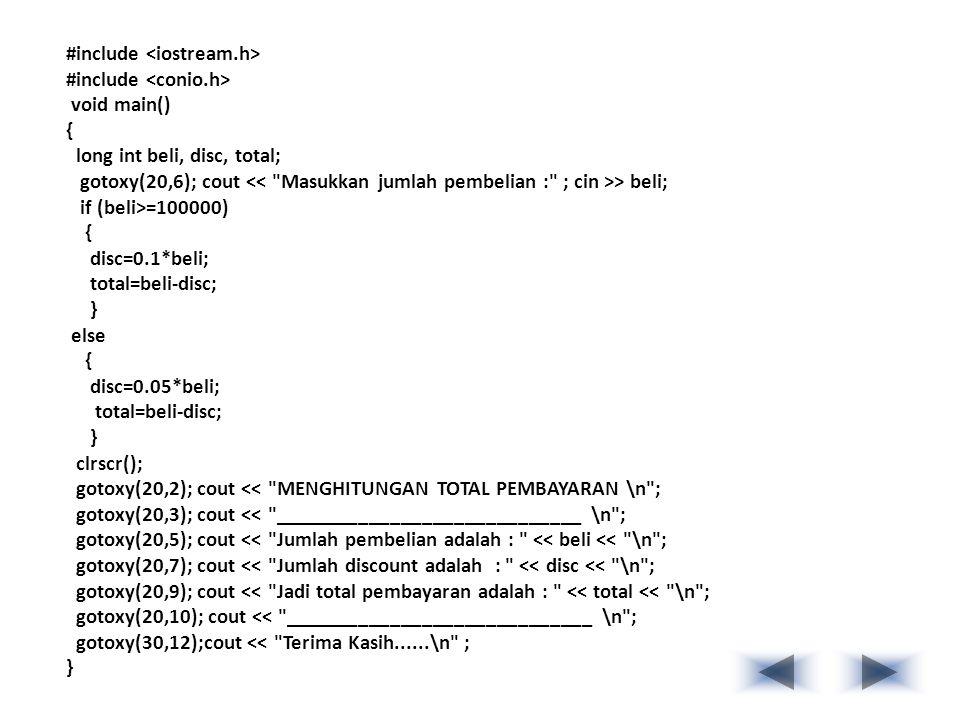 #include <iostream.h>