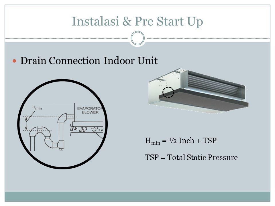 Instalasi & Pre Start Up