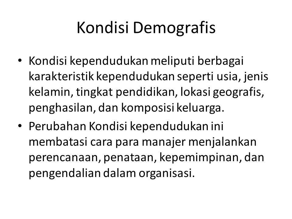 Kondisi Demografis