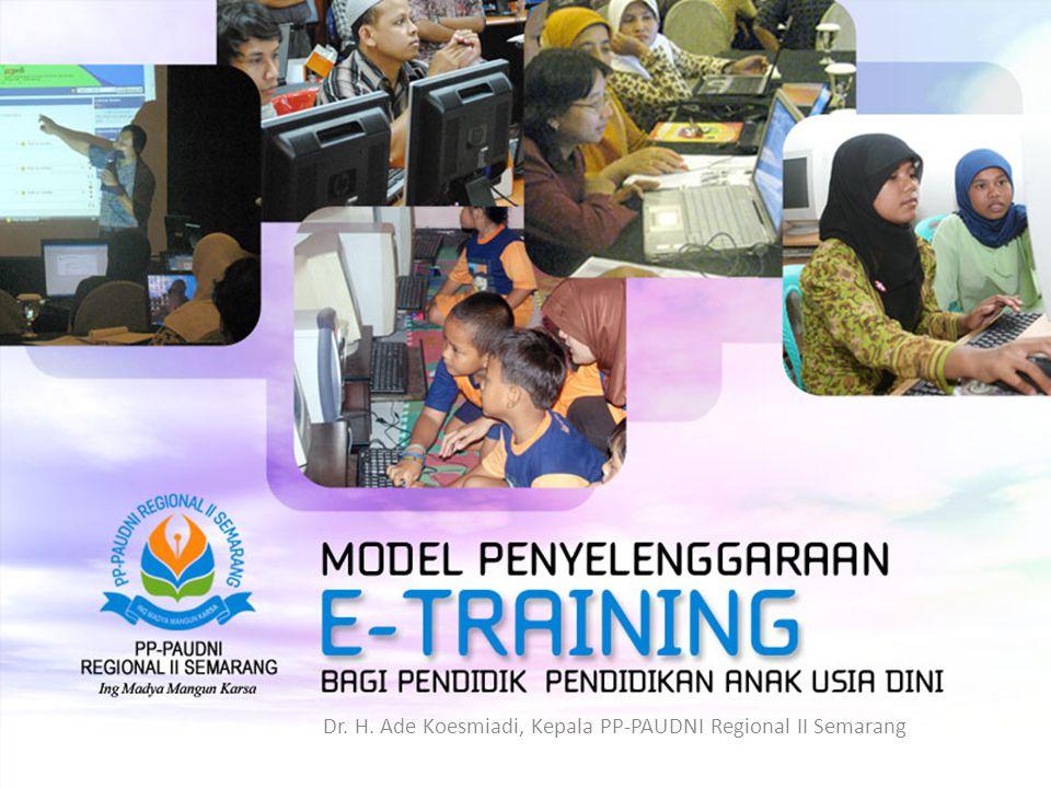 Dr. H. Ade Koesmiadi, Kepala PP-PAUDNI Regional II Semarang