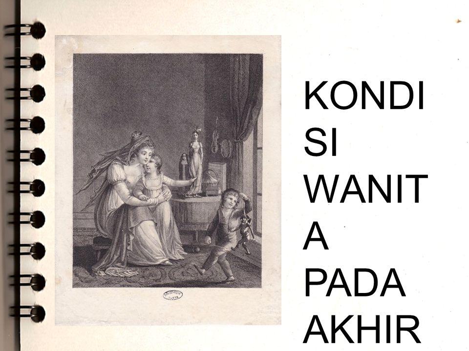 KONDISI WANITA PADA AKHIR ABAD KE-19