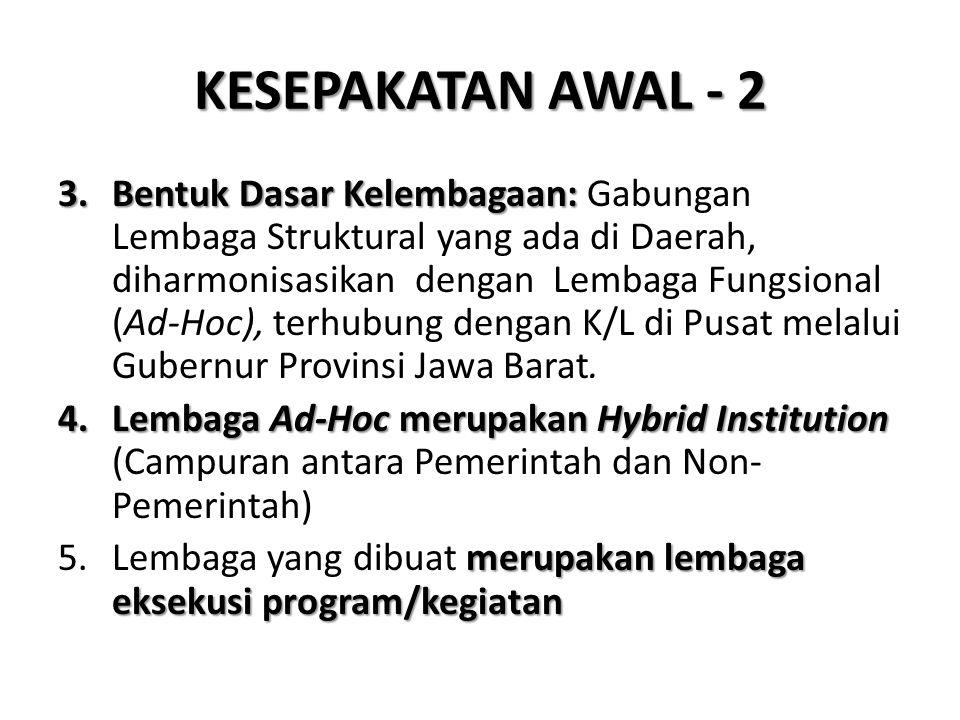 KESEPAKATAN AWAL - 2