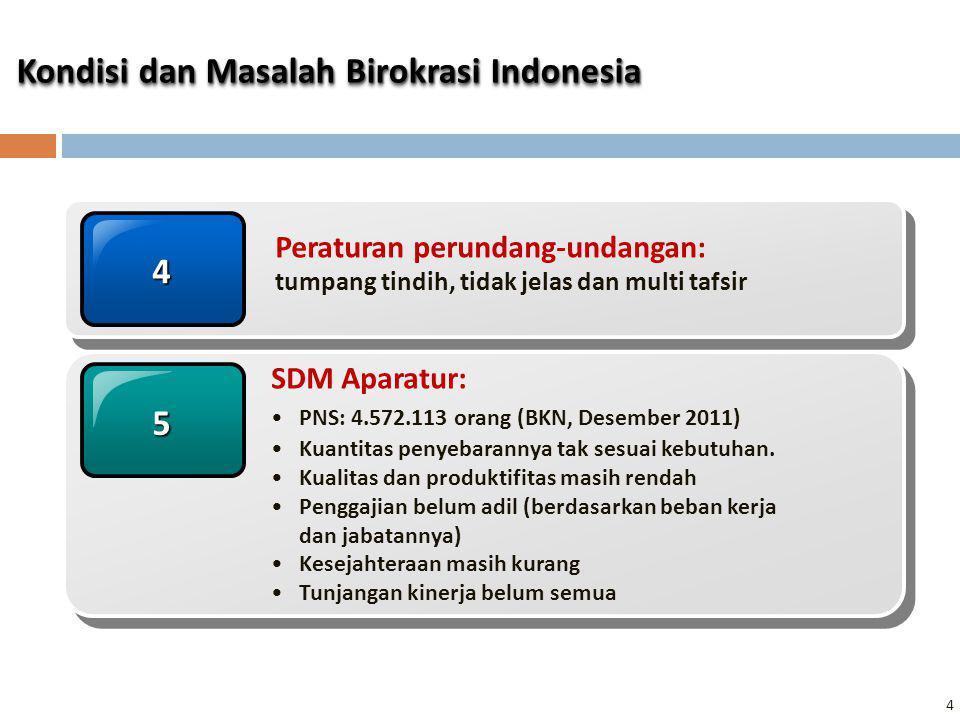 Kondisi dan Masalah Birokrasi Indonesia