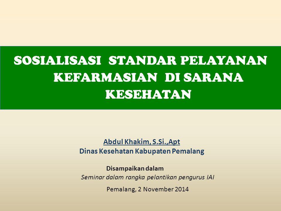 Dinas Kesehatan Kabupaten Pemalang
