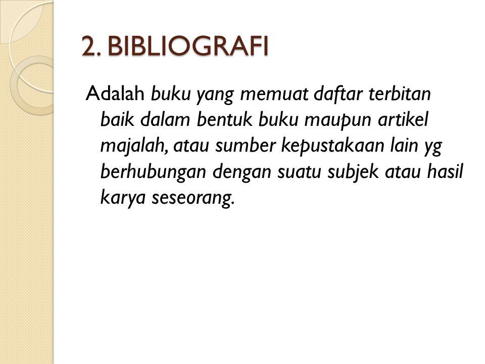 2. BIBLIOGRAFI