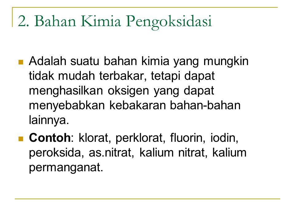 2. Bahan Kimia Pengoksidasi