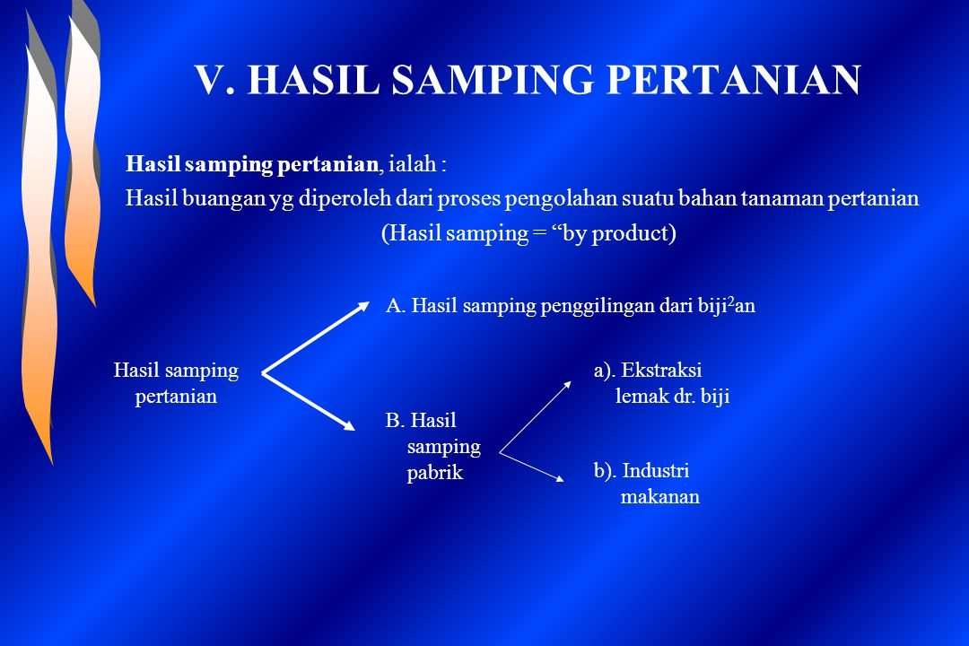 V. HASIL SAMPING PERTANIAN