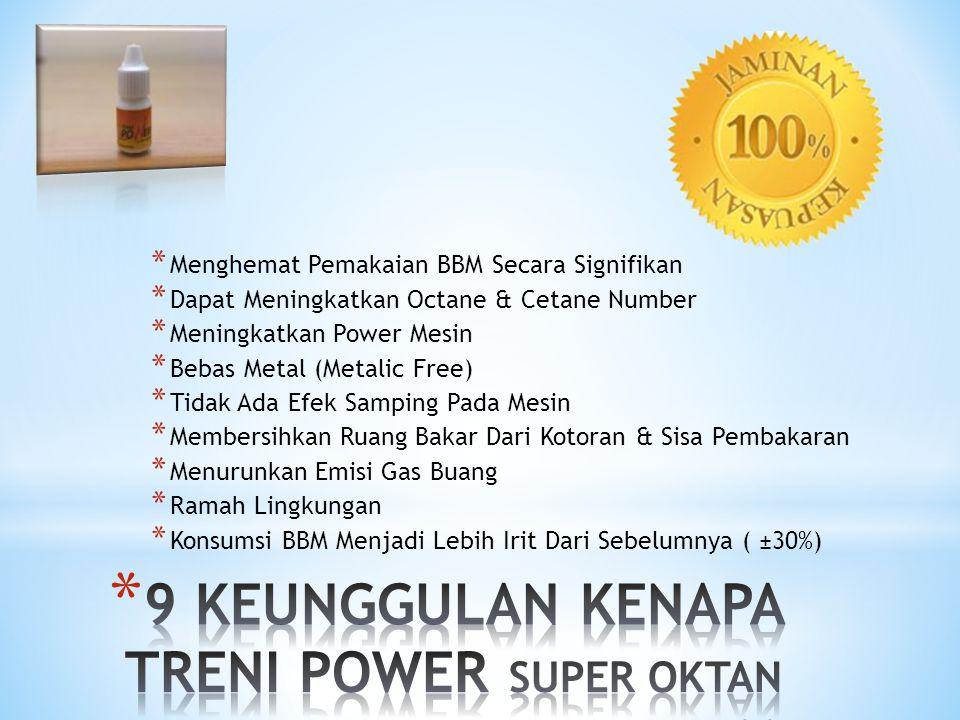 9 KEUNGGULAN KENAPA TRENI POWER SUPER OKTAN ...