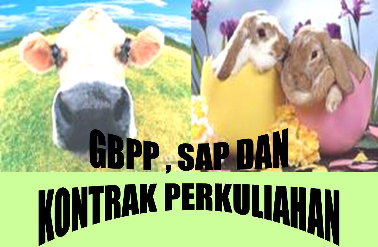 GBPP , SAP DAN KONTRAK PERKULIAHAN