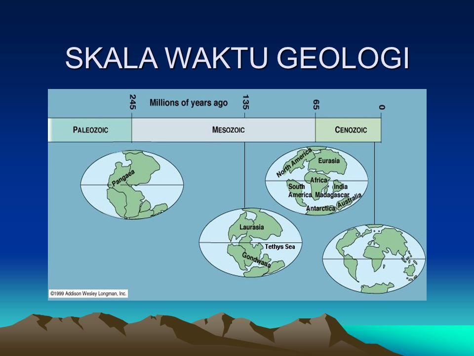 SKALA WAKTU GEOLOGI